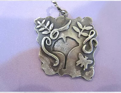 silver metal clay